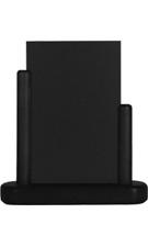 Zwarte Tafel houder Elegant, 10x15 cm A6 (ELE-BL-SM)