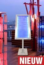 RVS LED Menukast Securit