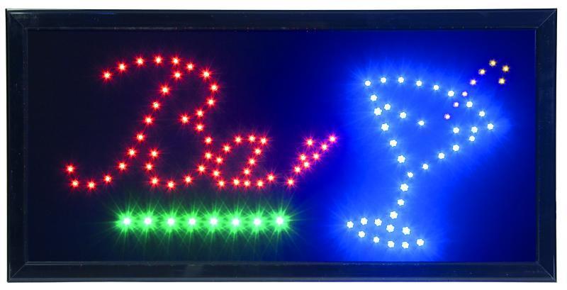 LED reclamebord