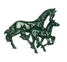 Muurversiering paarden