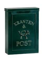 Brievenbus muurbus post&kranten