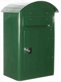 SafePost brievenbus 35 Groen en Wit