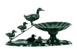 Waterbak voor vogels