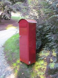 SafePost brievenbus 70-5 rood