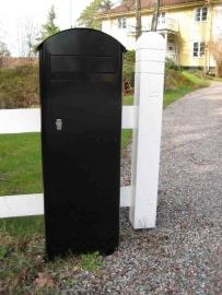 SafePost brievenbus 70-5 zwart