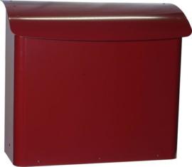 SafePost brievenbus 21 wijnrood