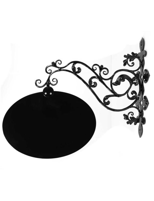 Uithangbord Panneau-ovale uit eigen smederij