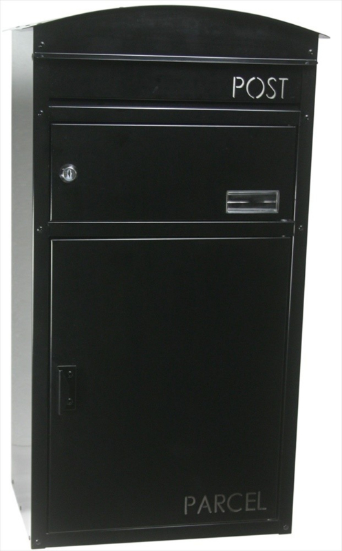 SafePost brievenbus 48 Zwart