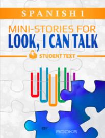 Look I Can Talk 1 - Mini-stories - Student textbook - Spanish