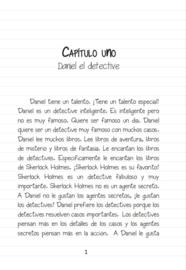 A1 | Daniel el detective - Rebecca Landor, Nikki Tottingham