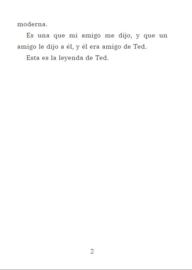 N I E U W! A1   La leyenda de Ted - Tiasha J. Garcia / tt FULLCOLOR