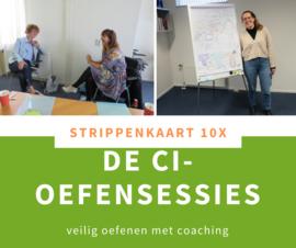 De CI-oefensessies - STRIPPENKAART 10X