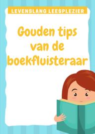 Gouden tips van de boekfluisteraar - hoe krijg je je leerlingen aan het lezen?