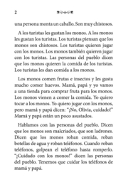 A1 | Olivia y los monos - Verónica Moscoso