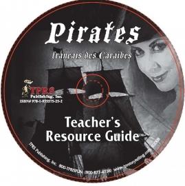 Pirates français des Caraïbes - CD met docentenhandleiding