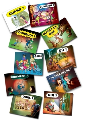 QuestionWord Posters - French