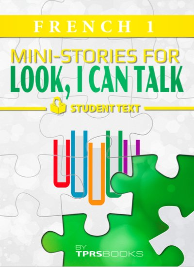 Look I Can Talk 1 - Mini-stories - Student textbook - French / 2021