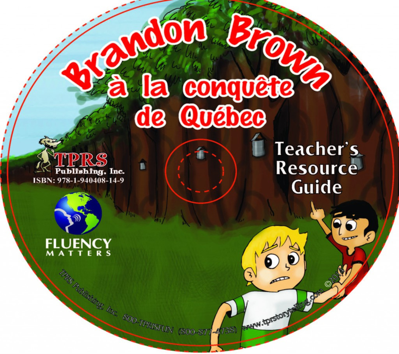 Brandon Brown à la conquête de Québec - teacher's guide CD