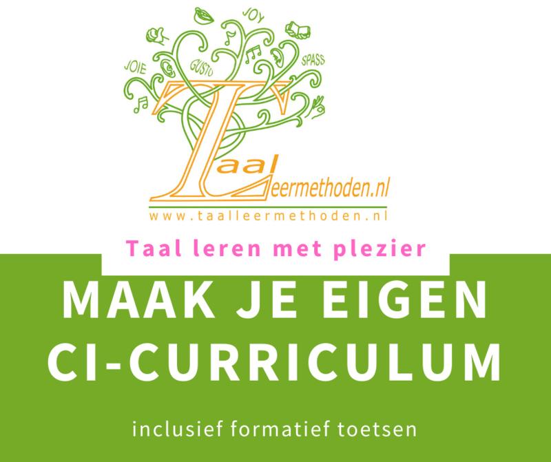 Maak je eigen CI curriculum   januari 2022 t/m december 2022