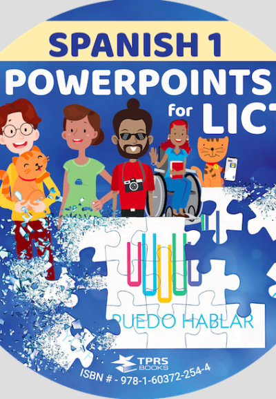 Look I Can Talk 1 - PowerPoints - Spanish