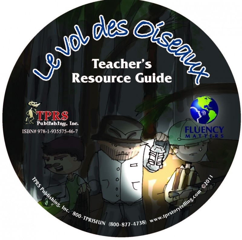 Vol de Oiseaux - Teacher's Guide on CD