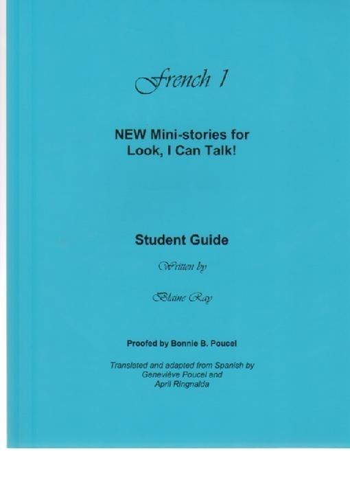Tweedelige set van  Look I Can Talk, NEW ministories French 1 - débutants & CEFR A1