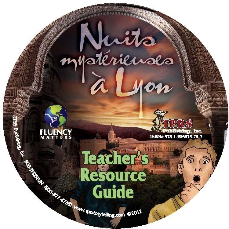 Nuits mystérieuses à Lyons – Teacher's Guide on CD