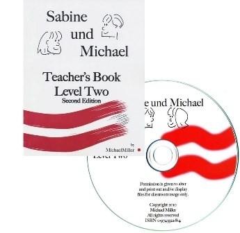 2 Sabine und Michael - Docentenboek & CD lesmateriaal niveau 2