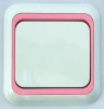 inbouw Schakelaar Wit/Roze