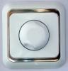 Dimmer 1000Watt   / inbouw  Wit.zilver