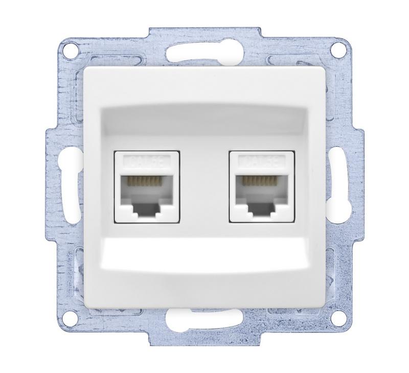 internet cat6 /Dubbel -zonder raam