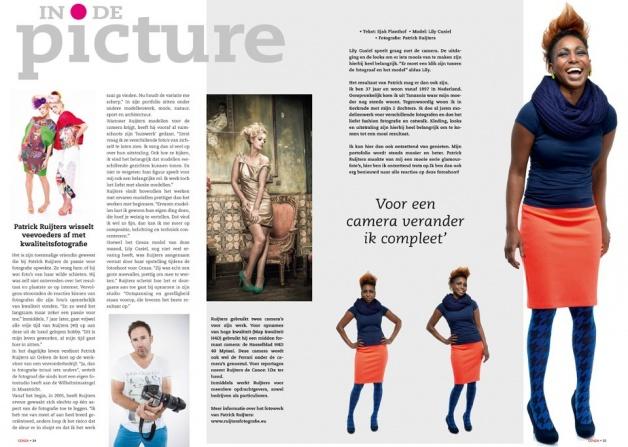 publicatie haar en make-up Visagie-Marlou