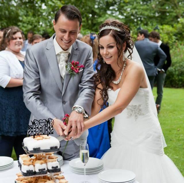 bruidsmake-up en kapsel parkstad