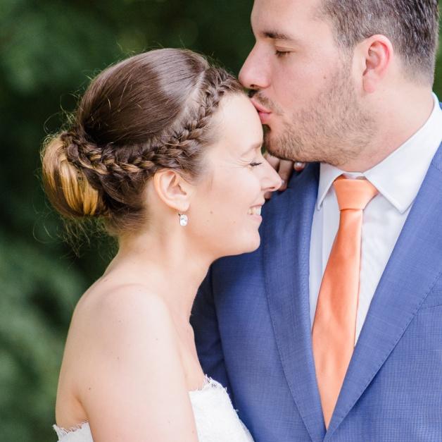 bruidsmake-up en bruidskapsel belgië