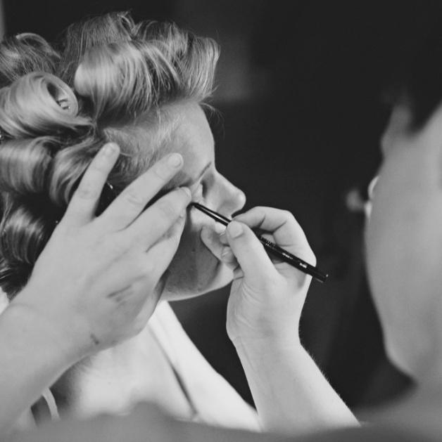 bruidsmake-up en bruidskapsel visagie-marlou