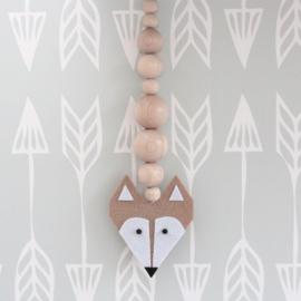 Hanger vos lichtbruin