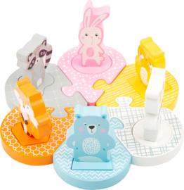 Puzzel - Dierenvormen
