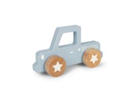 Little Dutch Houten Pick Up - Blauw