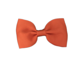 Haarstrik Donkeroranje - 6,5 cm - Kids-Ware
