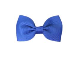 Haarstrik koningsblauw - 6,5 cm - Kids-Ware
