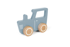 Little Dutch Houten Tractor - Blauw
