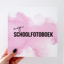 Mijn schoolfotoboek - Roze