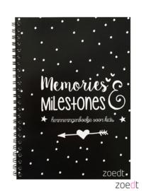 Invulboek Memories & Milestones