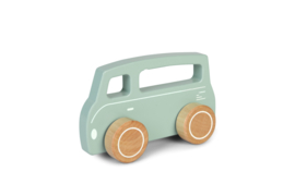 Little Dutch Houten Busje -Mint
