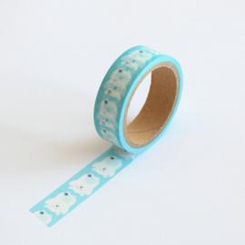 Masking tape ijsbeertjes