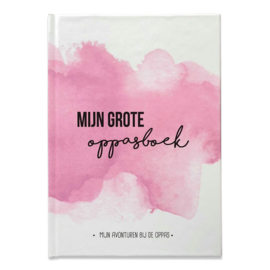Mijn oppasboek - Roze