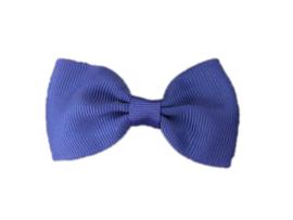 Haarstrik Donkerblauw - 6,5 cm - Kids-Ware