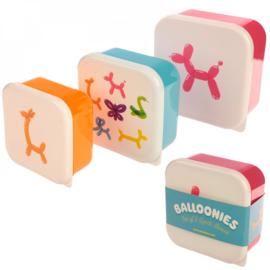 Set van 3  - Balloonies