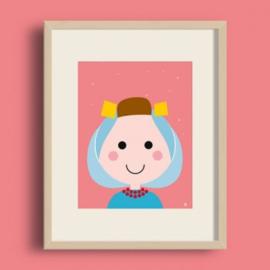 Poster - Zeeuws Meisje