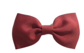Haarstrik Bordeaux - 6,5 cm - Kids-Ware